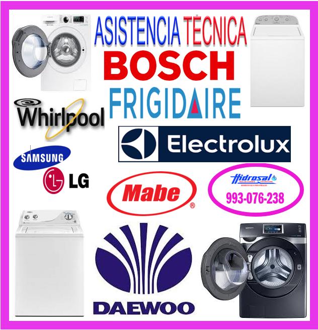 Servicio técnico de lavadoras Bosch