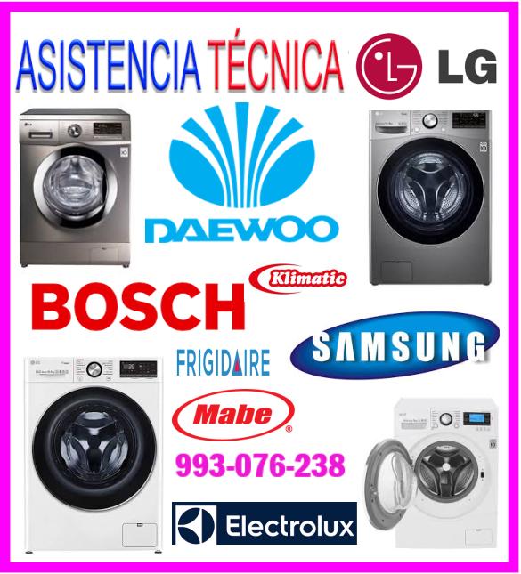 Reparaciones de lavadoras electrolux