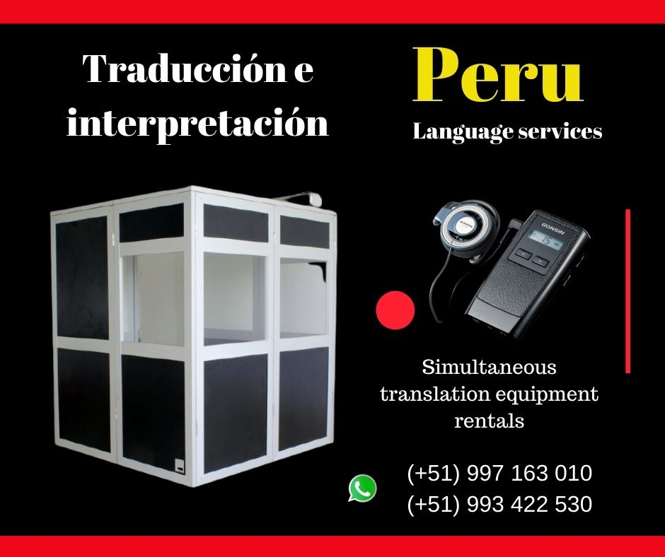 🥇 Traducción de idiomas eventos LIMA /TRUJILLO✅ 997163010