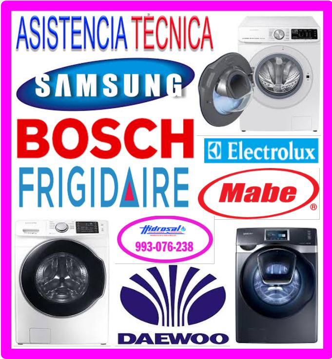 Reparaciones de lavadoras Samsung