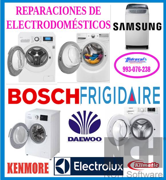 993076238 reparaciones de lavadoras Daewoo