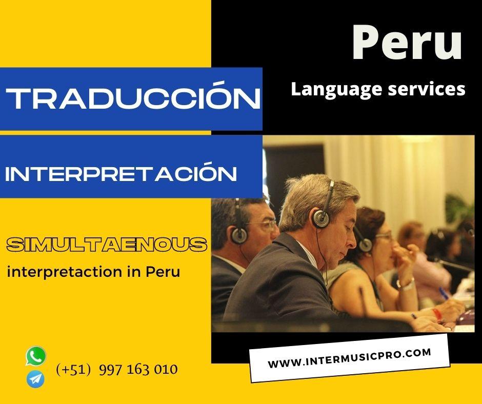 Traducción de idiomas  eventos PIURA /Cusco  ✅ 997163010