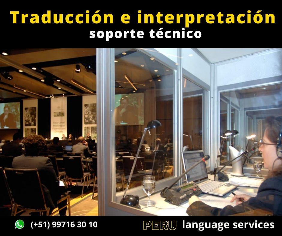 Alquiler cabinas traducción en Lima ✅ C. (51) 997163010