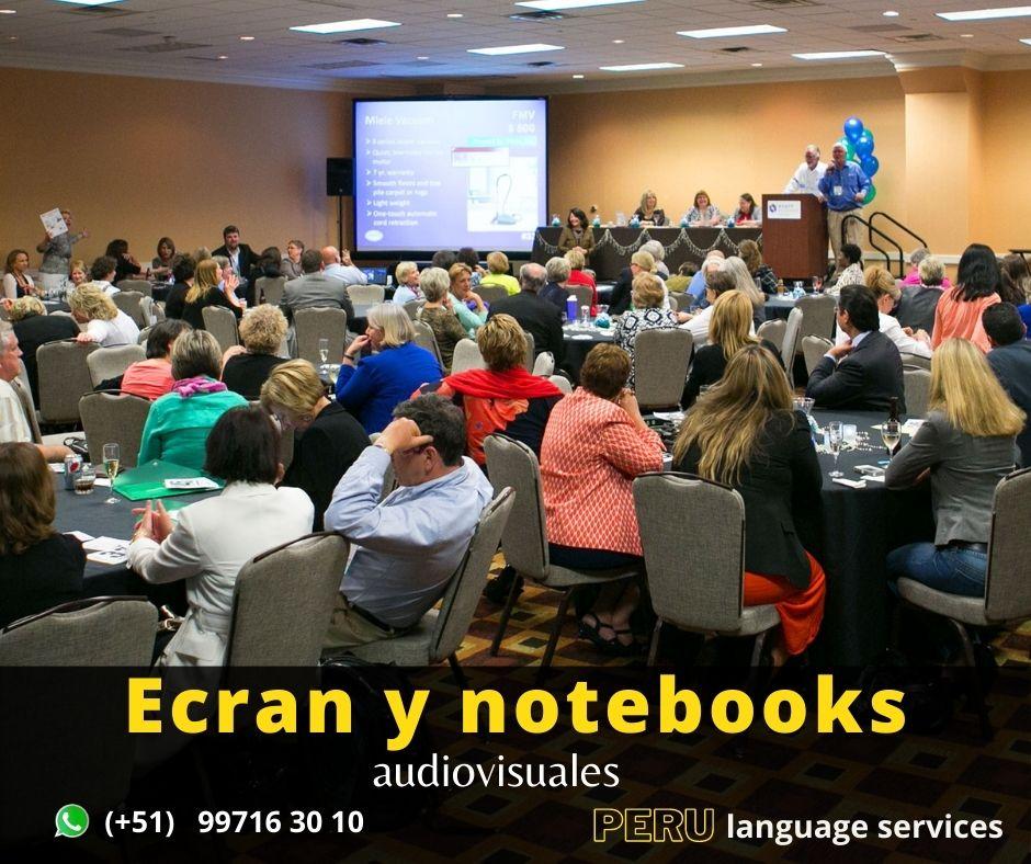 Traducción de idiomas para eventos .Perú Interpretación.