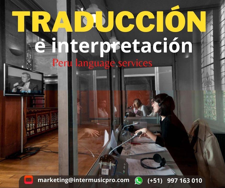 ¿Necesita traductor con equipos para evento en Lima?