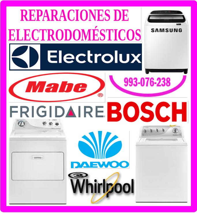 Servicio técnico de lavadoras Lg