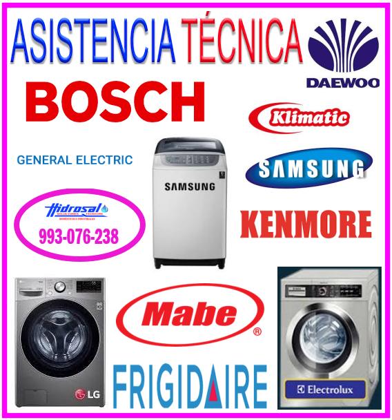 Reparaciones de lavadoras Klimatic
