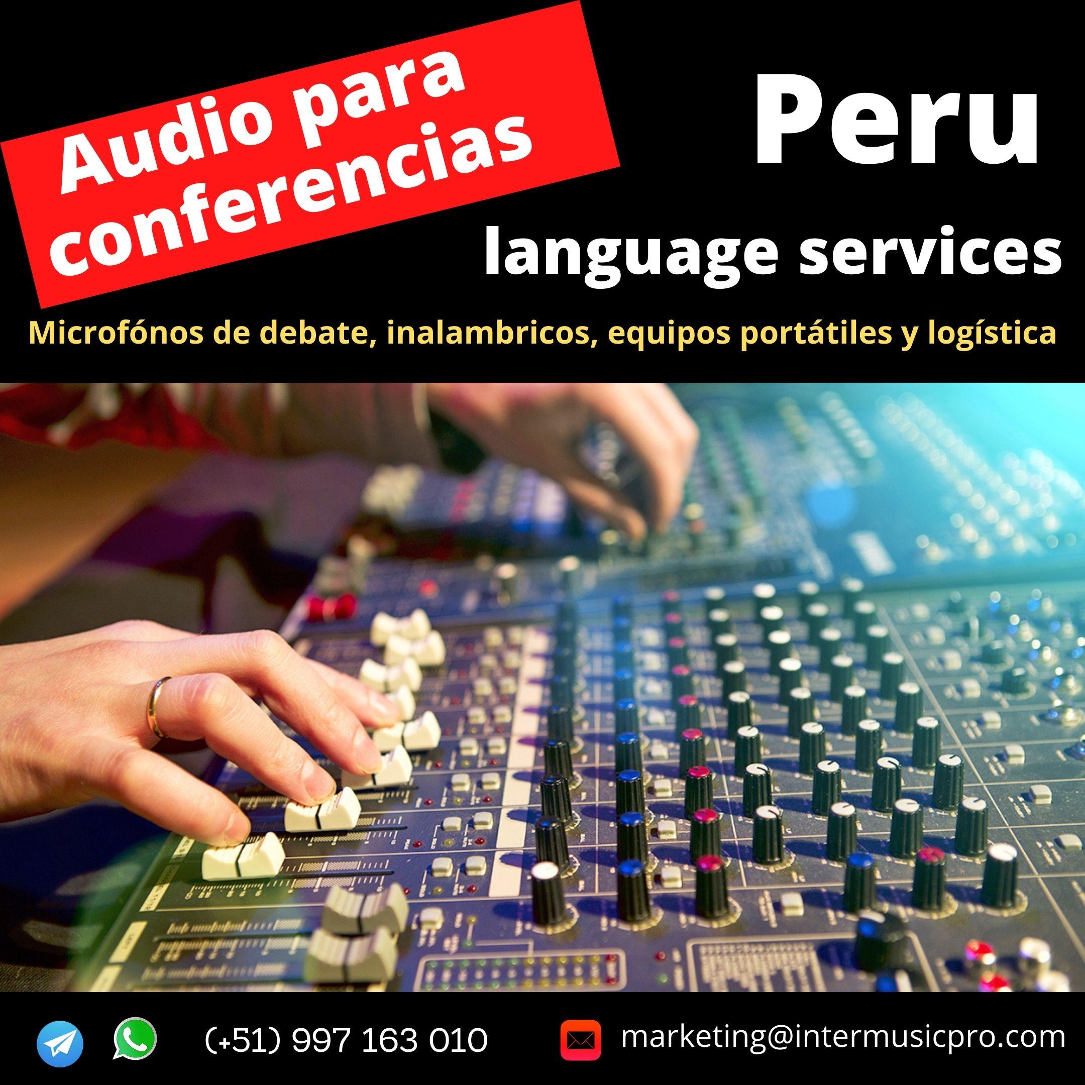Equipo de sonido para eventos  LIMA Cel. ✅ 997163010