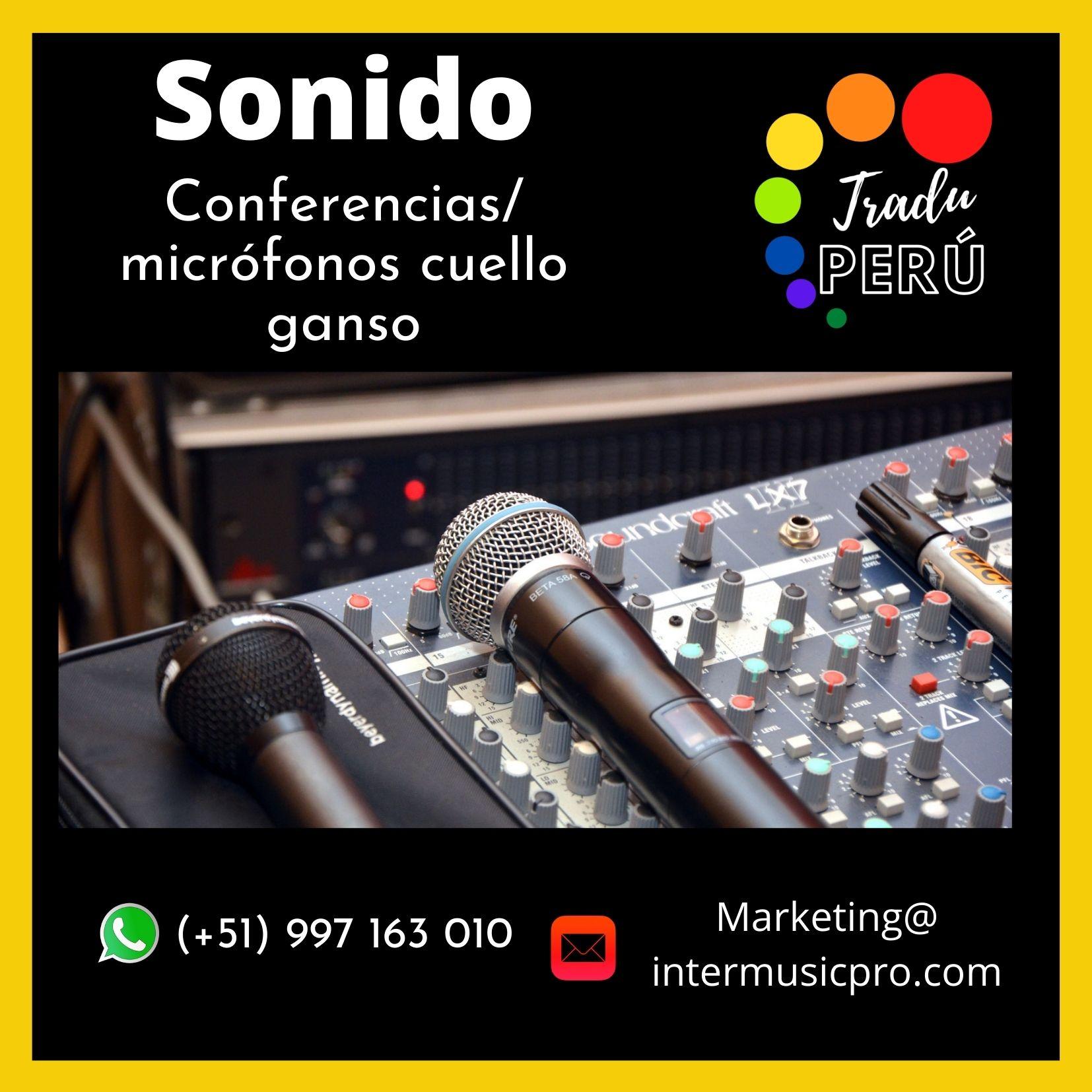 Equipo de sonido para eventos en LIMA ✅ 997163010