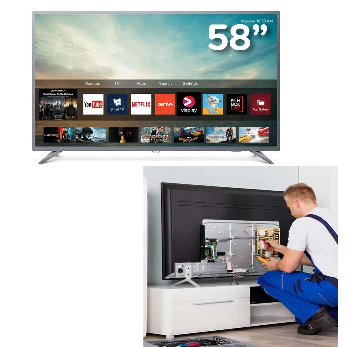 SERVICIO TECNICO DE TELEVISORES  A DOMICILIO 920409215