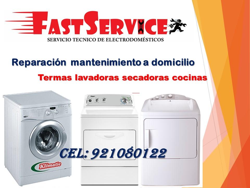 Reparación  Lavadoras- Secadoras) GENERAL ELECTRIC Lima