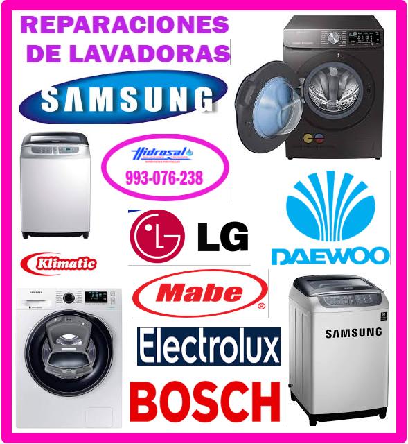 Servicio técnico de lavadoras Samsung 993076238