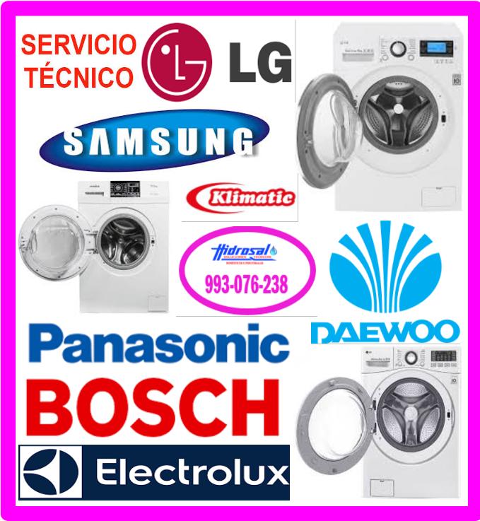 Servicio técnico de lavadora Lg