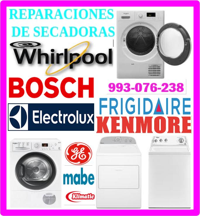 Reparaciones de lavadoras Frigidaire