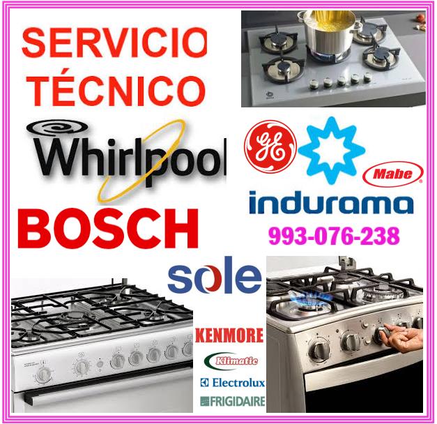 Técnicos de cocinas a gas Whirlpool 993076238
