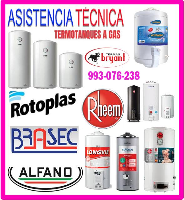 Reparaciones de termas a gas 993076238