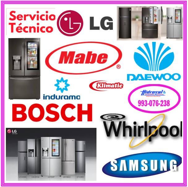 Técnicos de refrigeradoras Electrolux