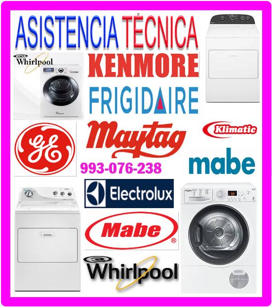 Mantenimiento de lavadoras Frigidaire 993076238