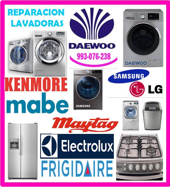 Reparaciones de lavadoras Daewoo