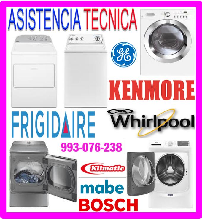 Reparaciones de lavadoras Amana