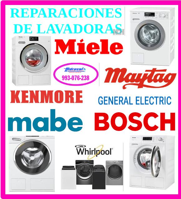 Reparaciones de lavadoras Whirlpool