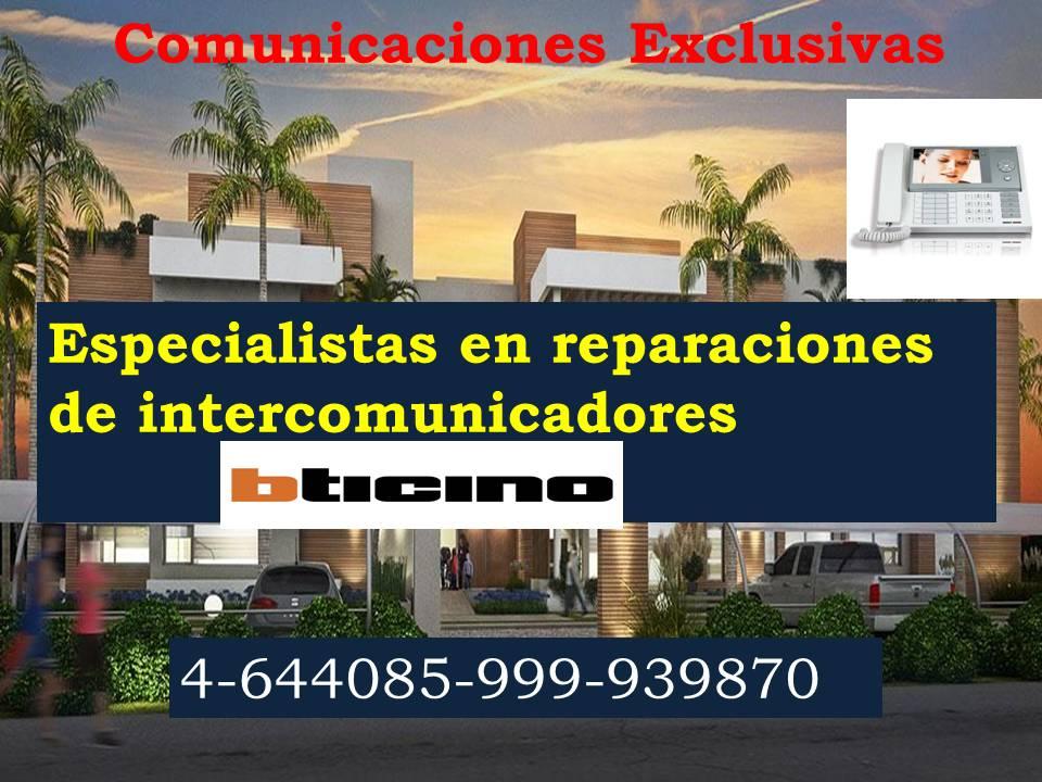 Reparación de intercomunicadores