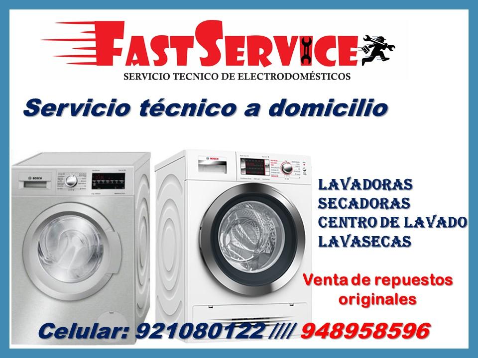 Servicio Técnico reparación (Lavadoras BOSCH) A DOMICILIO