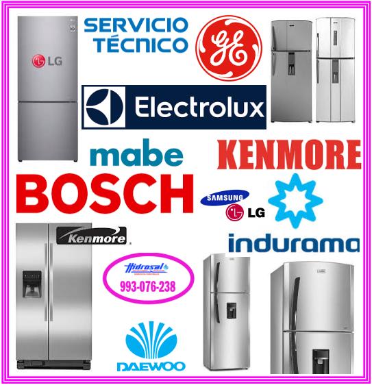 Reparaciones de refrigeradoras Mabe