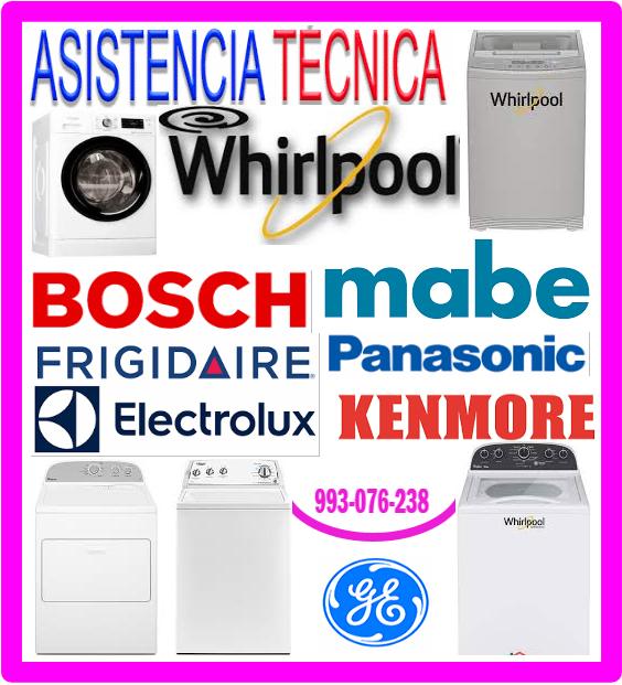 Mantenimiento lavadoras General Electric
