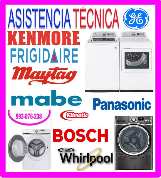 Reparaciones de lavadoras Kenmore