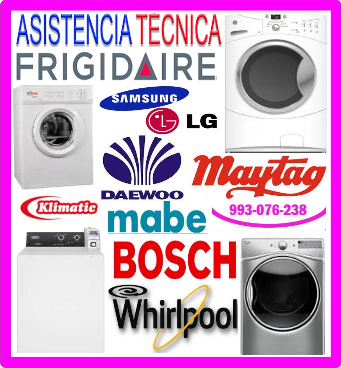 Reparaciones de secadoras Whirlpool