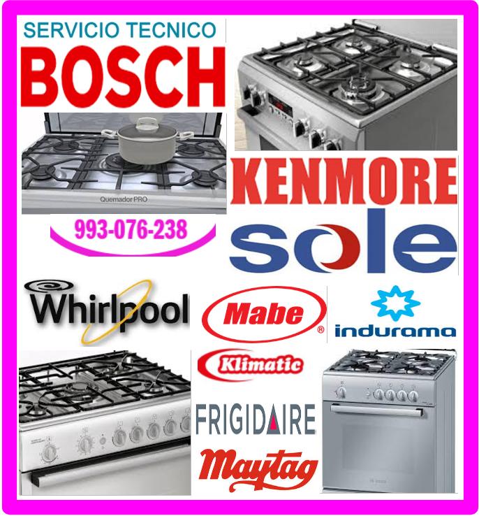 Reparación de cocinas a gas Bosch