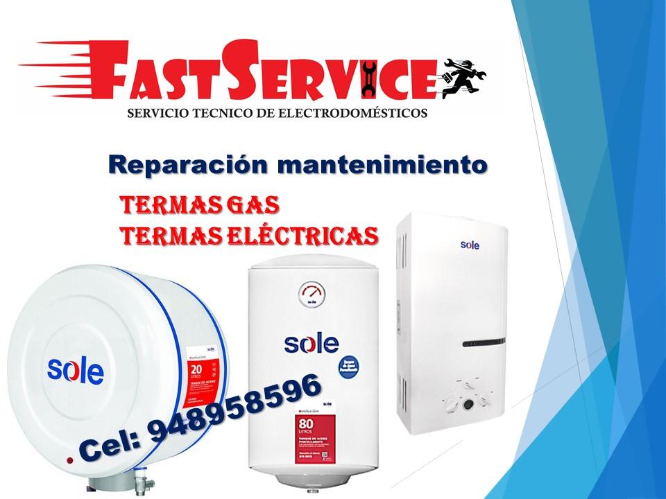 Servicio técnico AUTORIZADO de termas a gas  921080122
