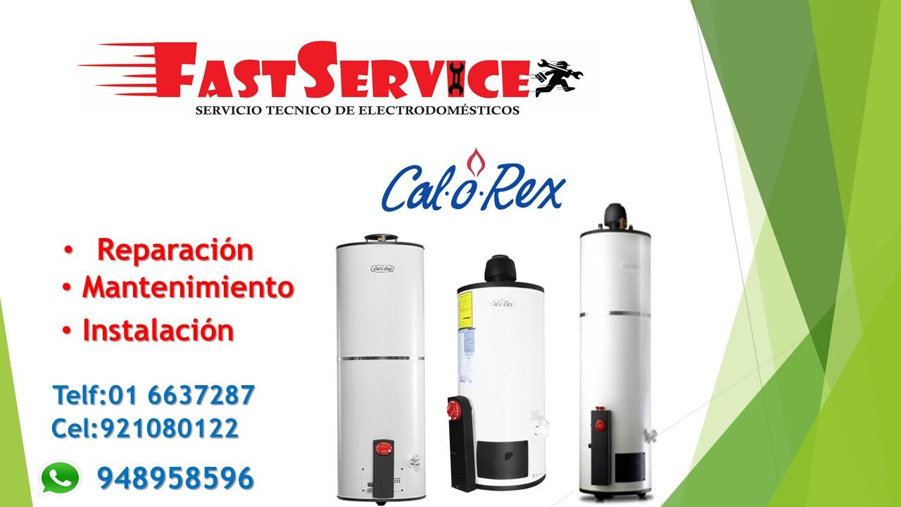 SERVICIO TECNICO DE TERMAS CALOREX SOLE ROTOPLAS A GAS