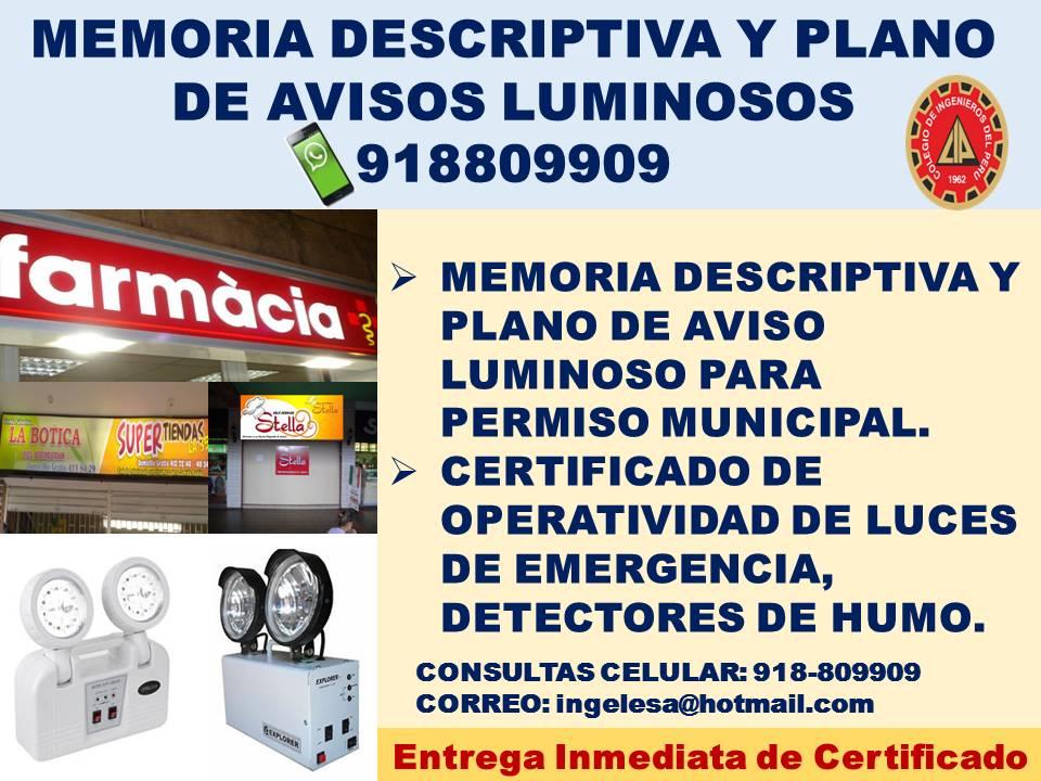 INGENIERO ELECTRICISTA COLEGIADO Y HABILITADO CEL. 918809909