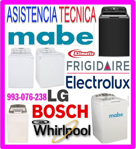 Servicio técnico lavadoras Lg 993076238