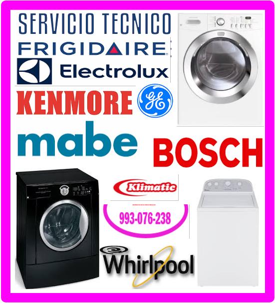 Mantenimiento lavadoras Lg