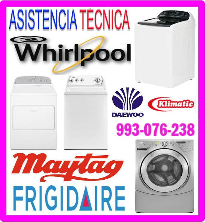 Servicio técnico lavadoras Klimatic
