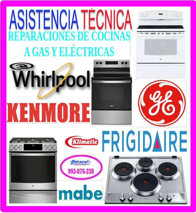 Técnicos de cocinas gas reparaciones