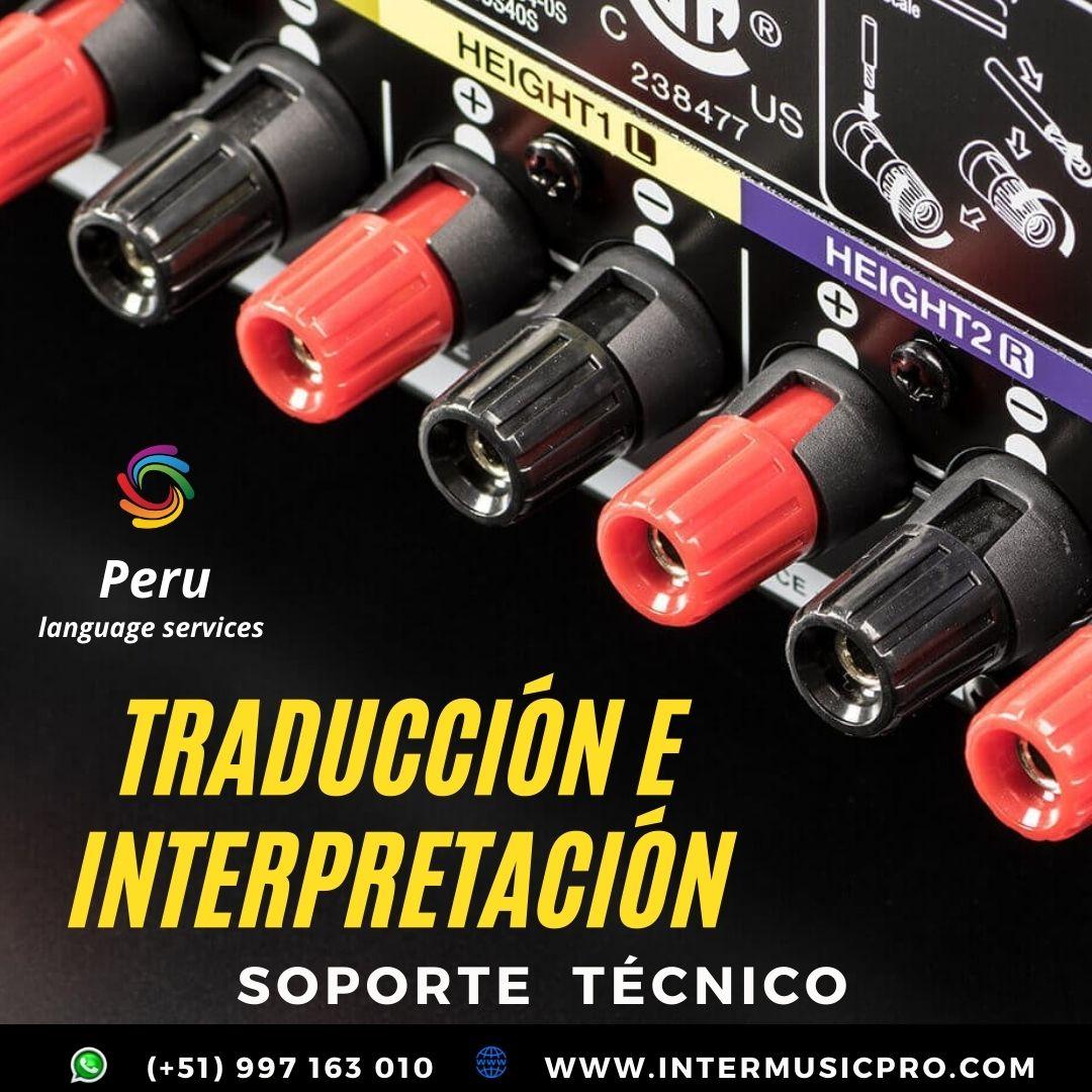 Traducción e Interpretación idiomas para eventos  LIMA