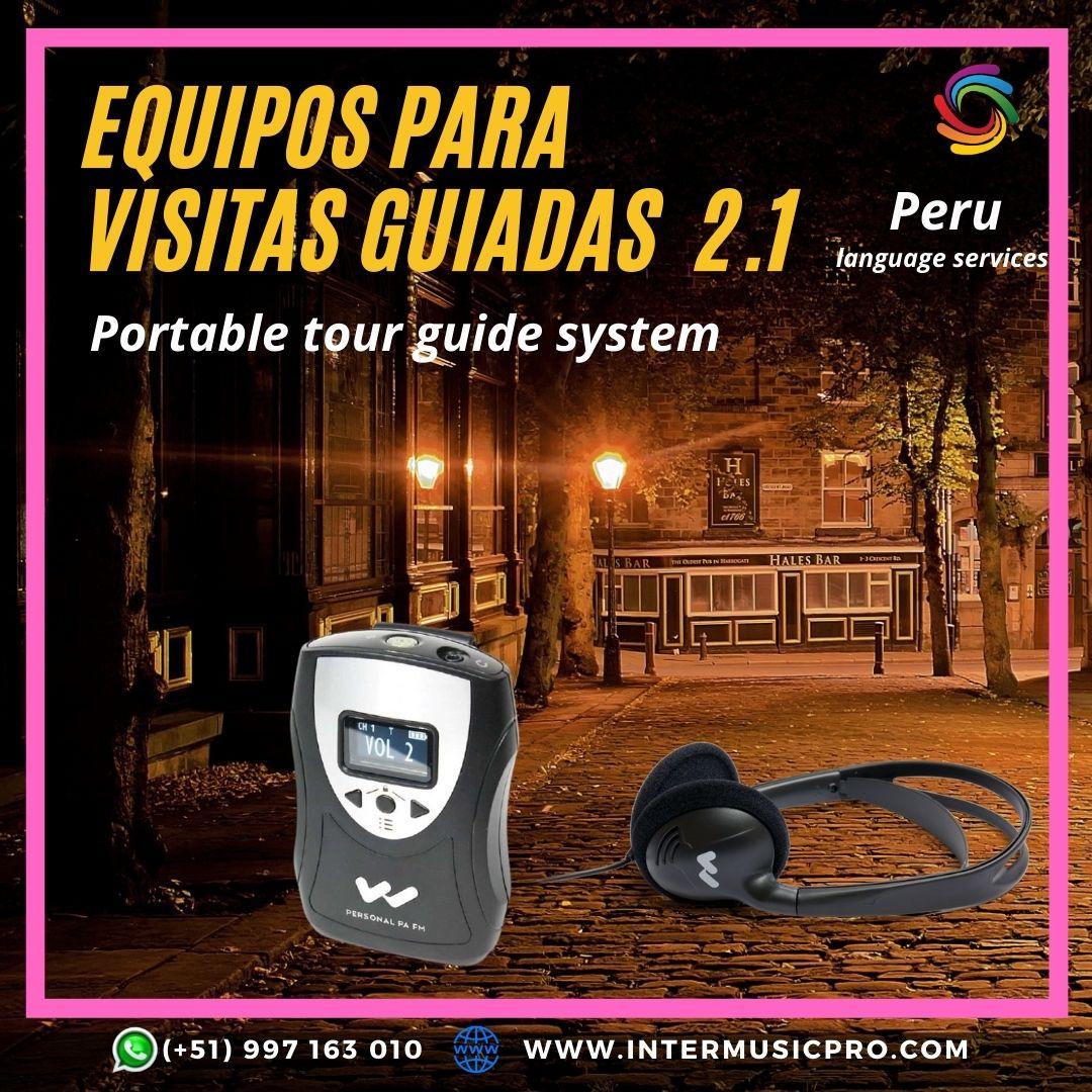 Equipos visitas guiadas /Trujillo Lima ✅ 997163010