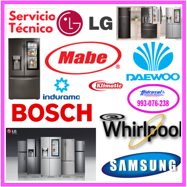 Reparaciones de refrigeradoras General Electric 993076238