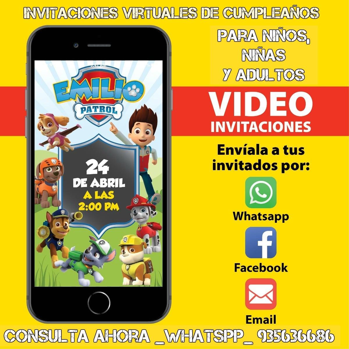 VÍDEO DE CUMPLEAÑOS