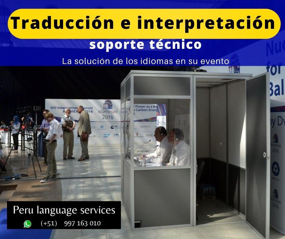 Traducción idiomas eventos INGLES / PORTUGUES✅ 997163010