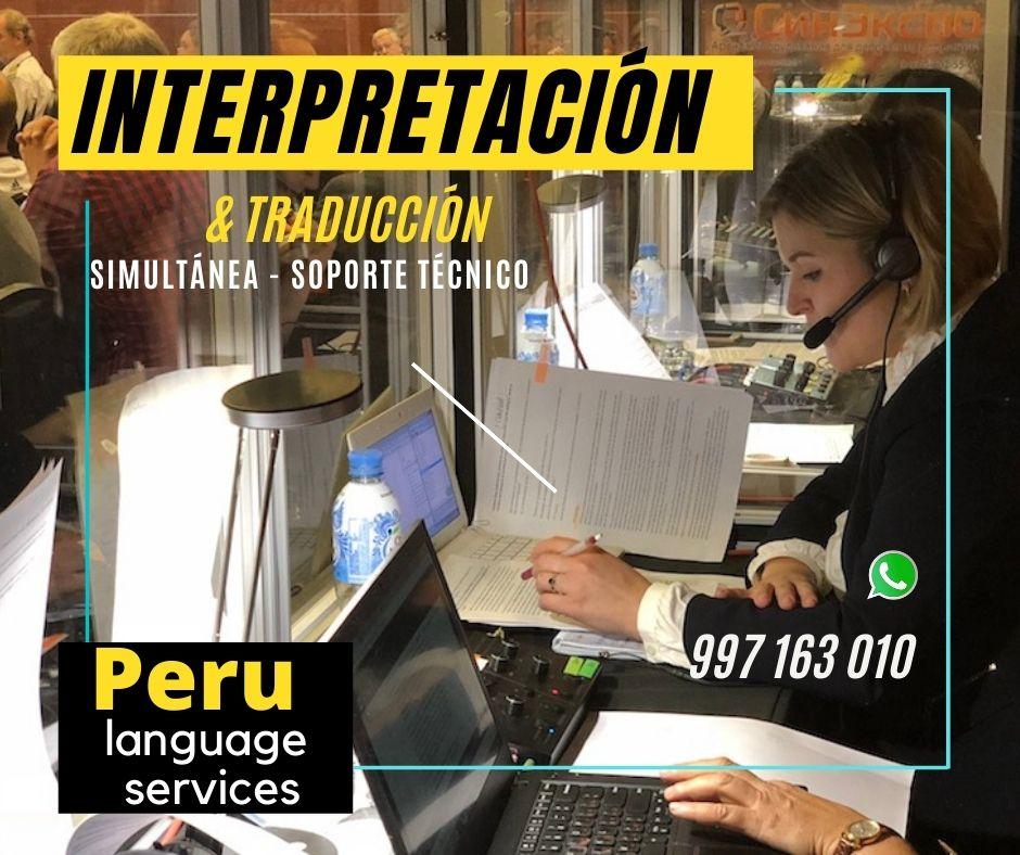 Traducción español portugués /Lima/equipos traducción
