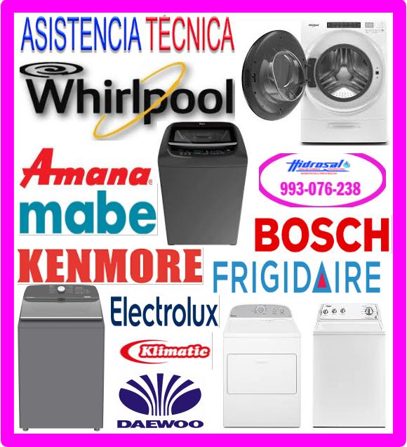 Reparaciones lavadoras Kenmore
