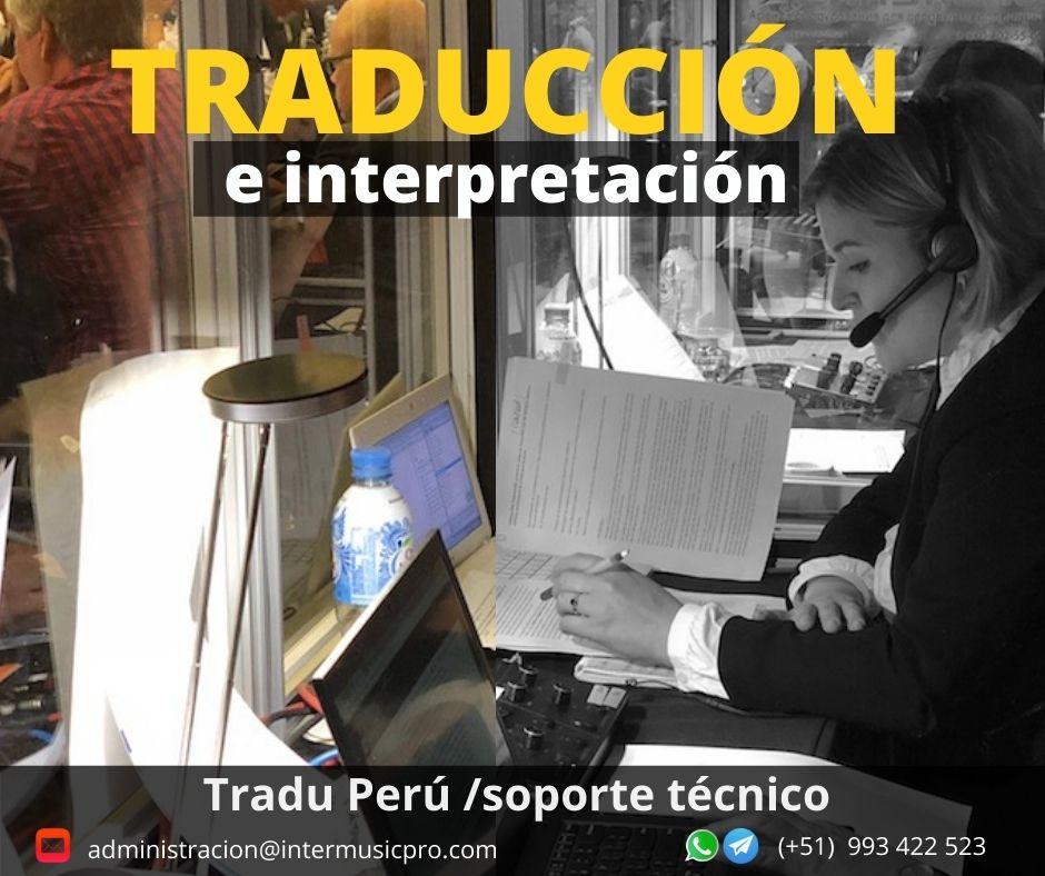 Perú Traducción .Traducción de idiomas para eventos .