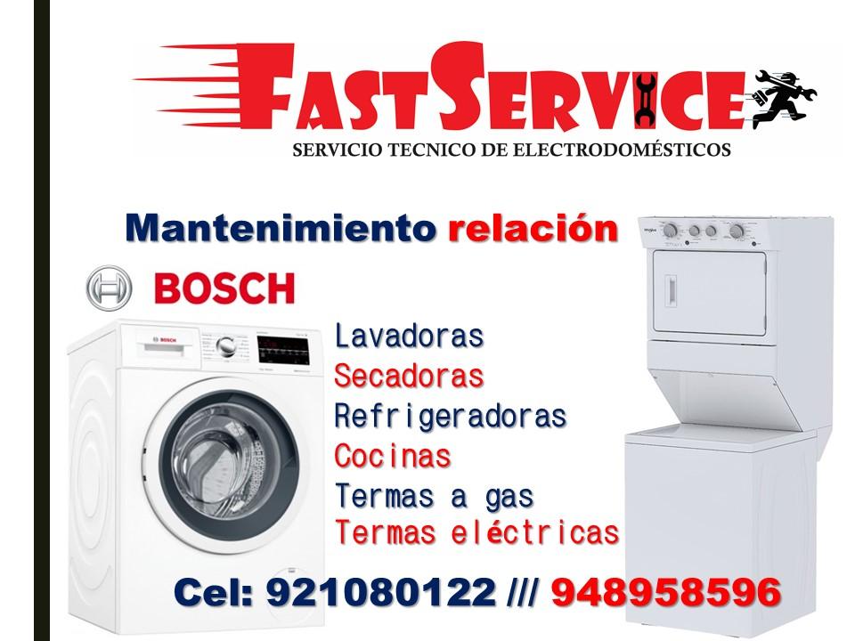 Servicio Técnico DE lavadoras secadoras BOSCH A Domicilio
